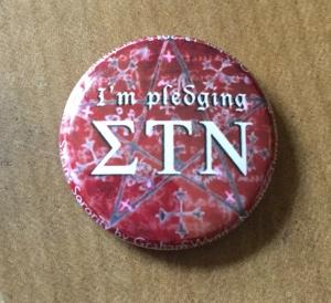 Pledging Sigma Tau Nu