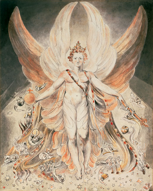 WilliamBlake-Satan-in-his-Original-Glory-c1805